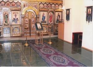 Домовой храм Порт-Артурской иконы Божьей Матери в штабе 5-ой Армии