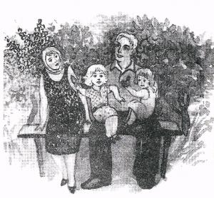 Рисунок (к поэме Русский крест)
