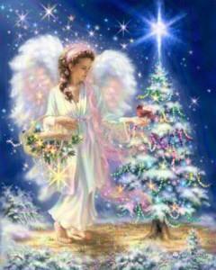 Открытка Рождественская елка